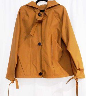 Phoebe English Ochre Reclaimed Cotton Poly Jacket