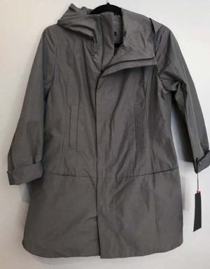 Masahiro Miyazaki Elephant Grey Hooded Zip Jacket