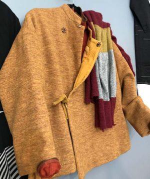 Urban Tribe Ochre Wool Crop Jacket