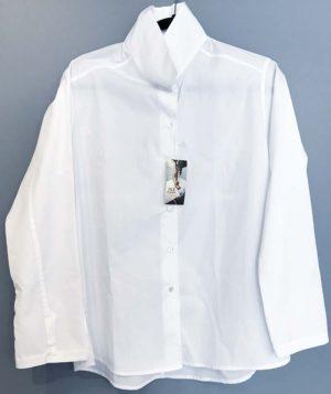 Jill McGowan Astrid White Broadcloth Shirt