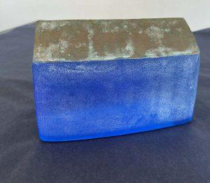 Katsuya Ohgita Grande Rectangular Cobalt Blue Glass House